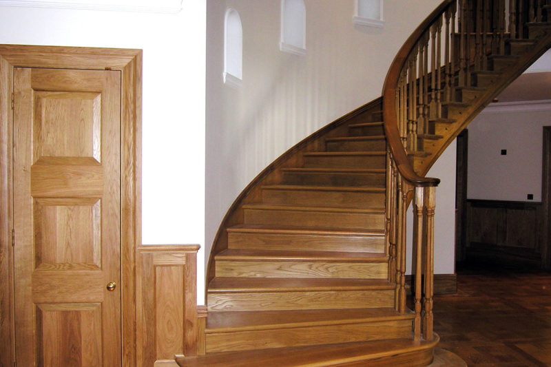 ... There Is Absolutely Nothing That Can Compare To Hardwood Staircases For  Elegance And Sturdiness. Oak Wood Is Usually Used For Stairway Treads And  ...